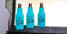 Bottle Coolers / Keep those tall beverages cold and easy to handle with customized beer bottle insulators! We have many classy options in an array of colors for your next event!