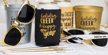New Year Holiday / Ring in the new year with personalized New Year's Eve party supplies! Make your event special with personalized New Year's Eve cups, can coolers, plates and other items to kick off a great new year!