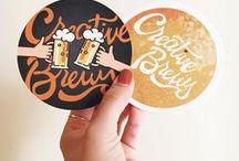 Customer's Coaster & Napkin Inspiration