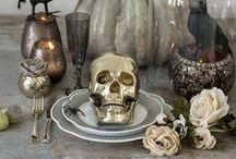 Halloween Inspiration / I love decorating for the holidays, and Halloween is no exception. Here you will find loads of Halloween inspiration from recipes to crafts and home decoration.
