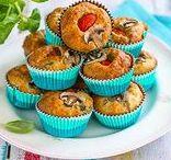 Muffinit / Cup Cake / Muffineista on moneksi! Kutsu niitä millä nimellä haluat, ja muokkaa niitä miten haluat. Helppoja valmistaa, tarjota. Tee vaikka etukäteen ja pakasta yksittäin vierasvaraksi. Vähillä aineilla saat jo loihdittua helposti näitä herkkuja. www.hellapoliisi.fi