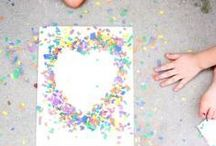 Kids + Great Activities / Kid activities for summer, rainy days, inside the house, and using various arts and crafts. Tips, tricks and inspiration!