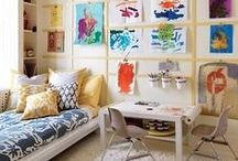 Kids + Nurseries / Rooms / Nursery decor, themes, organization, inspiration and tips and tricks for storage.