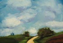 Landscape/seascape  painting