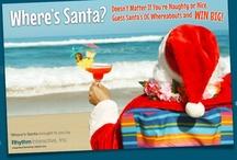 Seriously Fun Holiday Campaigns / Rhythm likes to have a little fun around the holidays. Happy holidays!! #holiday #contest #orangecounty #wheressanta