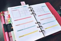 Planner Addicted / Items you can use/print off for your planners. Filofax, Franklin Covey, Day-Timers, Day Runners, Disc Bounds, 3-Rings, etc. / by Michelle Gentry