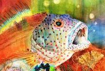watercolour - under the sea