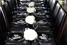 Black Colour Scheme / Really classy and look amazing in photographs