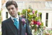 Groomswear Inspiration / Don't forget the boys, they need to compliment you and look extremely dapper.