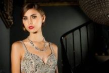 Filthy Rich Jewellery Shoot / Gorgeous jewellery shoot for Filthy Rich.  Photos by Paul Massey of Massey Photography Lincoln, planned and organised by Amy Thorne of Amaranthyne Weddings and Events, Make Up by Estera Sutton of Kokoshka MakeUp and Hair by Alison Jenner.  Styling – Estera Sutton and Amy Thorne.  Wedding Dresses from Belle and Bouquet, Wellingore and Evening Dresses from Red Carpet Ready.  Models – Emily and Rachel from Model Students.  Photographed at Stubton Hall.