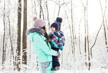 Winter Fun with Kids +  Family / Go the cold blues? Here are some ideas for family bonding activities with your babies, toddlers, and preschoolers this winter.