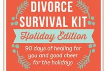Holiday Divorce Help Tools / Things to help you Survive the Holidays While You're Surviving Divorce