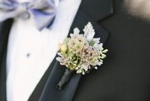 Buttonholes and Boutonnieres / Buttonholes / boutonnieres for the men.  So many gorgeous ideas.