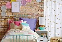 Toddler + Preschool Bedroom / Ideas put together to update our kids bedrooms as they grow older