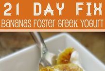 21 Day Fix ~ Recipes and info / healthy eating. 21 day fix