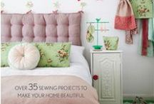 Rose Cottage Guest Bedroom / Here you will find everything to do with my Rose Cottage Guest bedroom that featured in my book 'Torie Jayne's Stylish Home Sewing' by Cico books