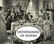 ENTERTAINING & PARTIES / #party #ideas #entertaining #planning
