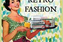 "RETRO FASHION / #retro #fashion #women Fashion post 1920s through 1990s. See ""Period Fashion"" for pre-1920s and ""Modern Fashion"" for post-1990s."