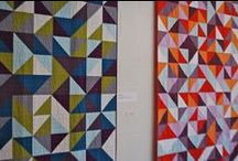 ::  triangle quilts  :: / quilts that showcase triangles