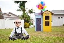 Up / B's 1st birthday party - we went all out with our theme based on Disney-Pixar's UP!
