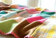 ::  recycle wool quilts  :: / because i really need to start collecting wool.