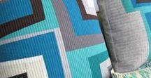 ::  log cabin quilts  :: / modern, traditional, or improvisational quilts created with log cabin blocks.