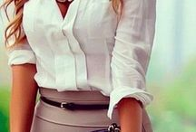 Work outfits and accessories / by Gabrielle Garcia