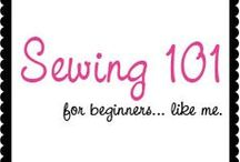 Sewing 101 / Starting to learn how to sew :)