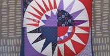 ::  paper pieced quilt blocks ::