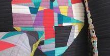 ::  crazy piecing quilt ideas ::