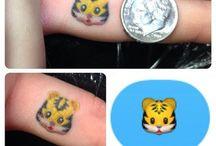 ★ emoji tattoos ★ / ️❤️ FOLLOW THIS BOARD NOW! ❤️