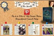 Pin it to Win it! My Dream Theme: Reawakened Launch Party / Everything Egyptian, Everything Romantic, Everything Magical, Everything Book Party Ideas