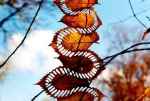 Lovely Leaves / Art, home decor, jewellery, fashion and craft ideas inspired by the shapes and colours of autumn leaves.