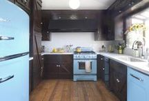 Big Chill Celebrity Kitchen Inspiration / Big Chill are on a mission to make the refrigerator more stylish. Modern made classics that attract many celebrities. Discover celebrities who love Big Chill and other A-List kitchen inspiration.  / by Big Chill