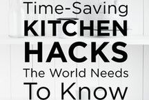 Kitchen Hacks / A collection of the best kitchen and cooking hacks from Big Chill.