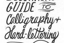 Calligraphy/Hand-lettering