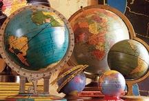 """""""School of Rock"""" - School stuff (Chalk boards, maps, globes, fonts)"""