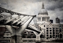 ♔ St Pauls Cathedral / St Paul's Cathedral, London, is a Church of England cathedral and seat of the Bishop of London. Its dedication to Paul the Apostle dates back to the original church on this site, founded in AD 604. / by Melissa