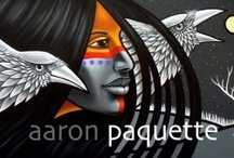 Aaron Paquette  the amazing artist/writer/poet / by Char McBride