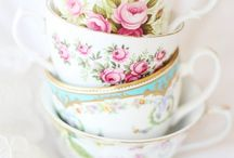 Teacups are Enchanting / There's something vintage, stately, elegant and Jane Austen about teacups - especially florals, I love them!