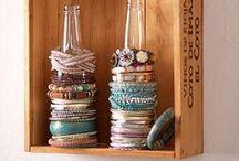Organization Ideas / DIY Organization Crafts