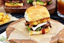 Burgers / Thick, juicy burgers of all shapes, sizes, and flavors!