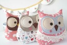 Owls Galore / There's something totally adorable and enchanting about Owls :)
