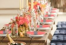 Coral and Navy Wedding Ideas / Katy and Thomas wedding ideas