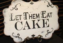 Let them eat cake ! / Cakes