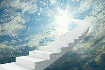 Fantasy Stairs / Imaginary fantasy stairs
