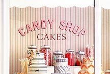 Truly Scrumptious / I love the look of old fashioned sweet shoppes. I don't like eating the candy but I love the eye candy.