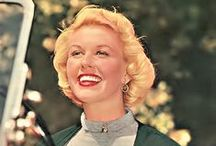 Doris / Doris Day's style in hair and clothes is classic