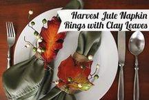 Thanksgiving Ideas / DIY Ideas for thanksgiving!