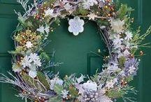 Wreath Ideas / Crafty DIY wreaths for all seasons!